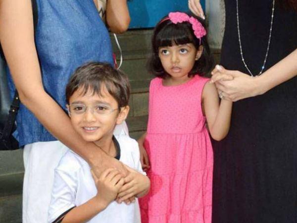 Aishwarya Rai Abhishek Bachchan S Daughter Aaradhya Aamir Kh