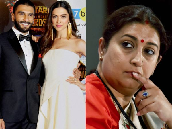 Deepika Padukone Ranveer Singh Wedding Smriti Irani Is Wait