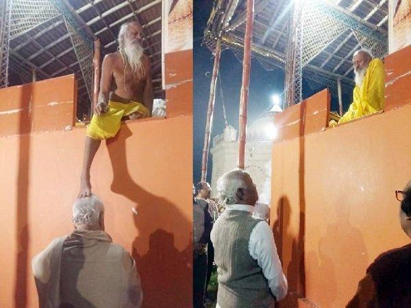 આ પણ વાંચોઃ RSS પ્રમુખે માથે પગ મૂકાવી લીધા આશીર્વાદ, 'અયોધ્યામાં રામ મંદિર માટે પૂરા મનથી લાગ્યા છે'