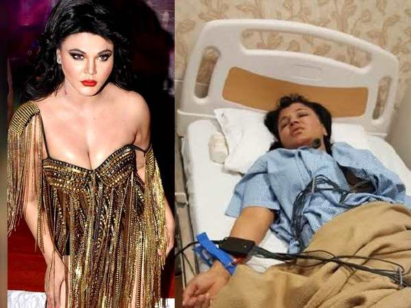 Rakhi Sawant Injured After Wrestler Throws Him On Ring Floor