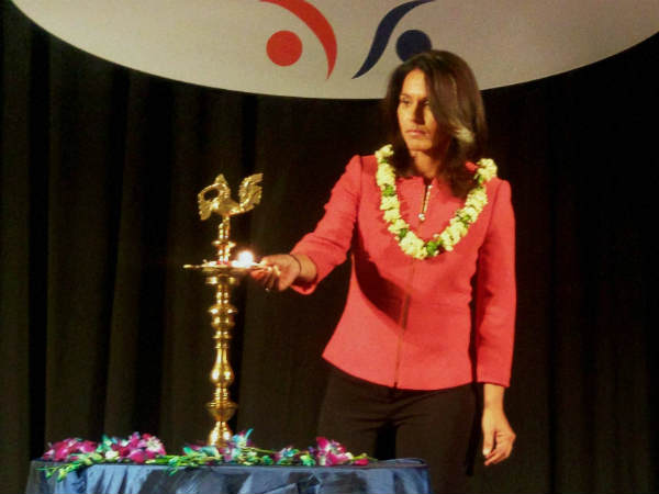 Tulsi Gabbard First Hindu Lawmaker Us Congress May Run Us Pr