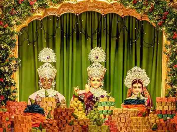 3 Krishna Idols Stolen From Swaminarayan Temple London