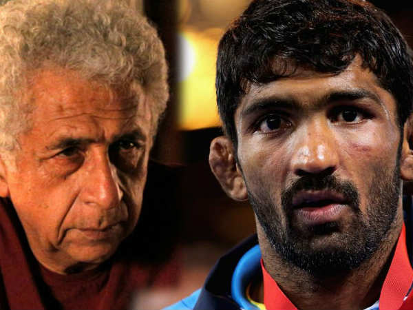 Yogeshwar Dutt Slams Naseeruddin Shah His Latest Statement