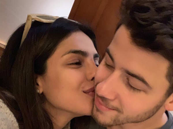 Priyanka Chopra Share Photo With Husband Nick Jonas Says Honoured To Kiss Most Stylish Man