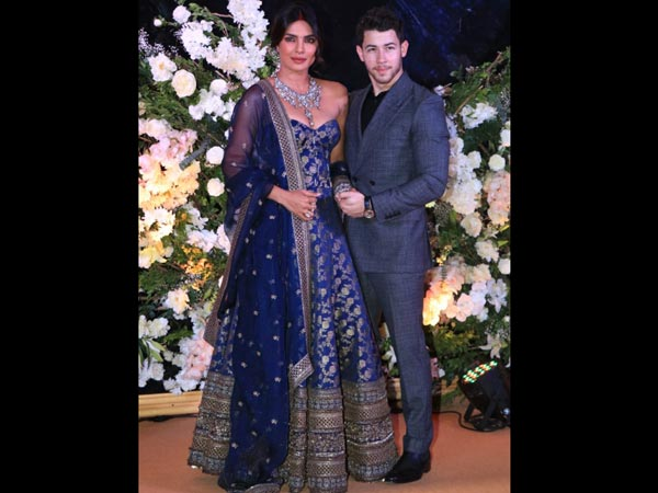 Priyanka Chopra Nick Jonas Mumbai Reception See Images Videos