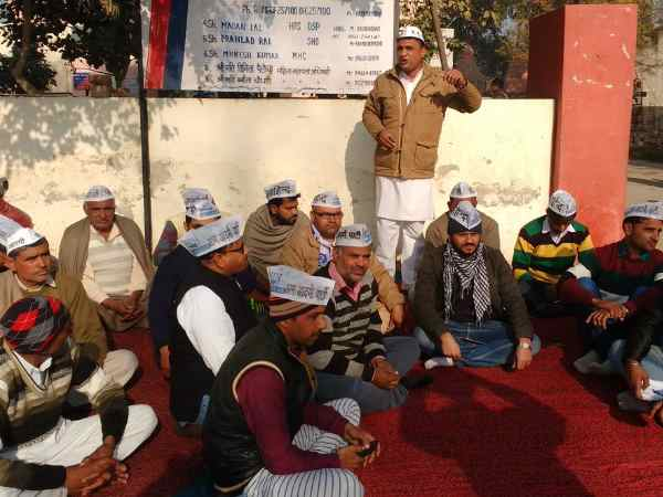 Aap Workers Haryana Detained Allegedly Calling Ml Khattar Cm