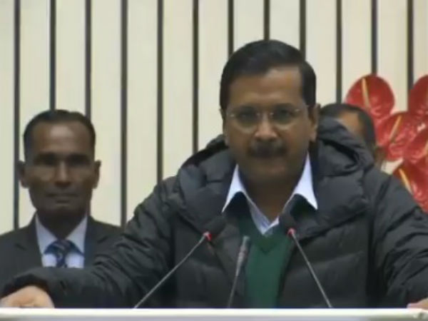 Bjp Workers Start Coughing When Arvind Kejriwal Begins To Talk To Mock Him