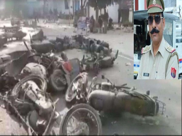 Bulandshahr Violence Viral Video Shows Sumit Pelting Stones