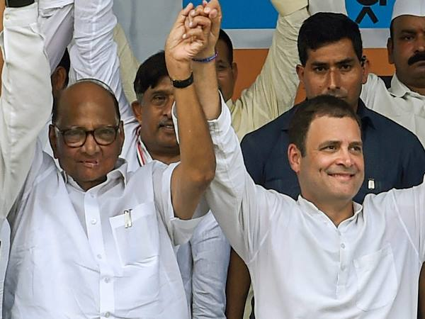 Ncp Congress Contest 2019 Lok Sabha Polls With Peasants Workers Party Of India Sharad Pawar