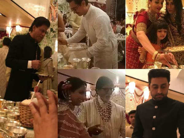 Here Is Why Aamir Amitabh Bachchan Served Food The Guest Abhishek Bachchan Revealed