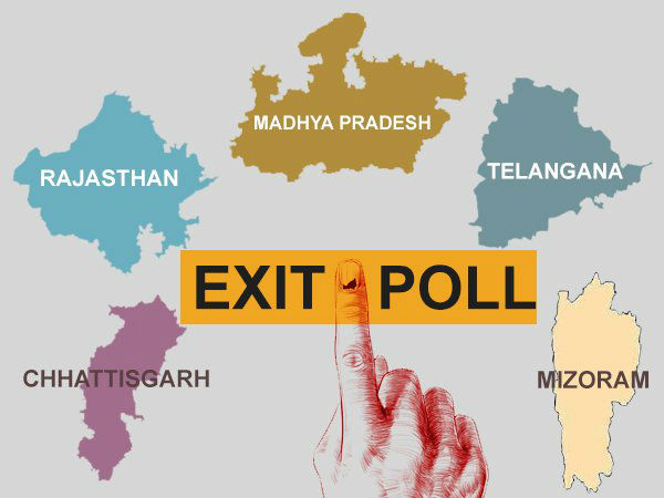 Exit Polls 2018 Who Will Rule The Five State Assemblies