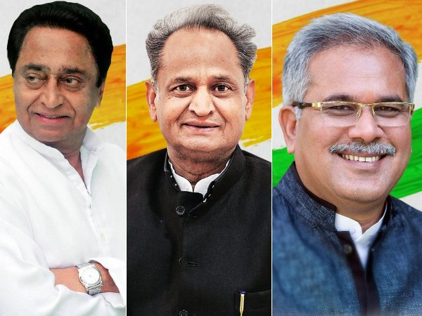 Madhya Pradesh Rajasthan Chhattisgarh Newly Elected Chief Ministers