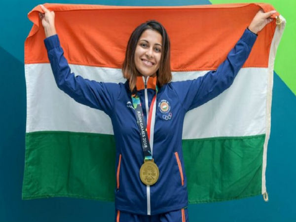Heena Sidhu Equalize World Record Shoots Equal Score 10 M Air Pistol