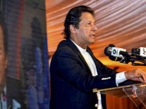 Pakistan Prime Minister Imran Khan Has Said That Kartarpur Corridor Was Not Googly Straight Drive