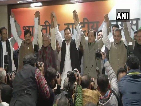Rlsp Leader Upendra Kushwaha Joins Mahagathbandhan Bihar Con