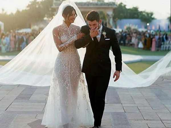 Priyanka Chopra Nick Jonas Wedding Photos