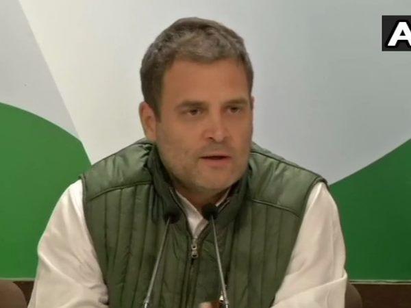 Rahul Gandhi Press Conference Over Rafale Deal Attacks Narendra Modi