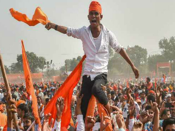 Vhp Mega Rally In Delhi Ramlila Maidan For Ram Temple Construction In Ayodhya