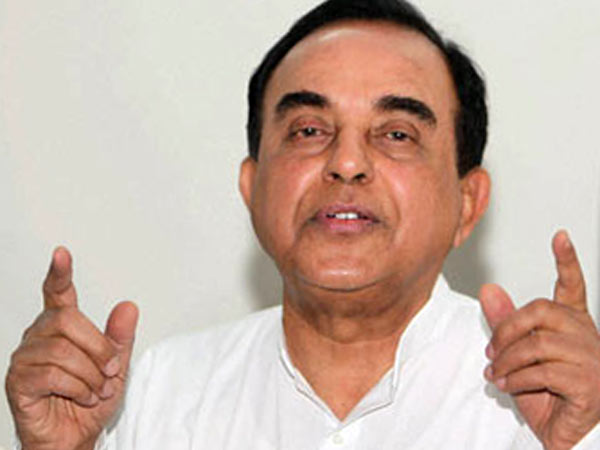 Subramanian Swamy Questions Shaktikanta Das Appointment As