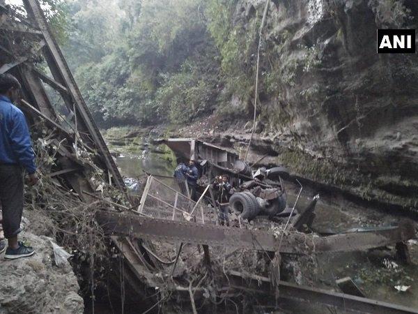 Uttarakhand Bridge Collapses Garhi Cant Dehradun 2 Dead