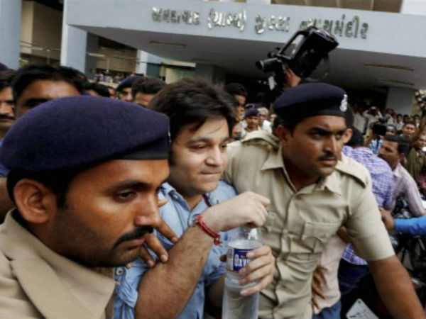 Including Vismay Shah Arrested Partying Gandhinagar