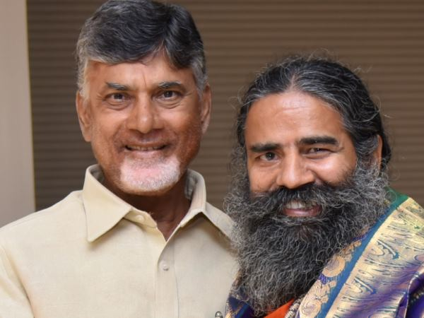 Baba Ramdev S Patanjali Open Food Herbal Park Andhra Pradesh