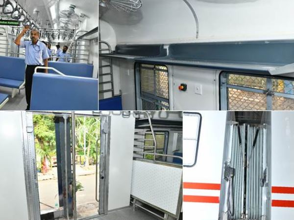 Indian Railways Launches Upgraded Memu Train Calls It Train 18 Little Sister