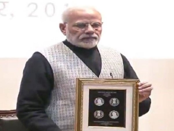 Pm Modi Releases Commemorative Rs 100 Coin Memory Former Pm Ab Vajpayee