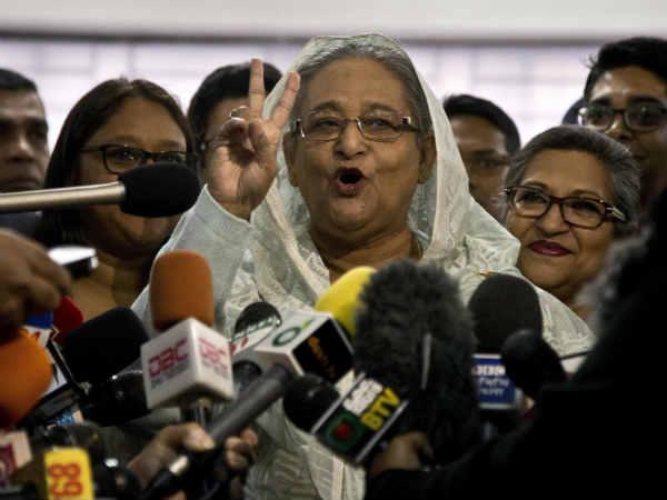 Bangladesh Elections Pm Sheikh Hasina Set Return Power Third Term
