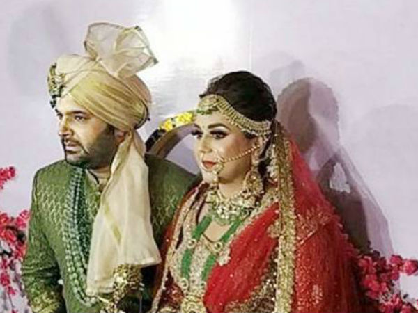 Fans Congratulate The Newlyweds Kapil Sharma Ginni Chatrath On Twitter See Wedding Pics