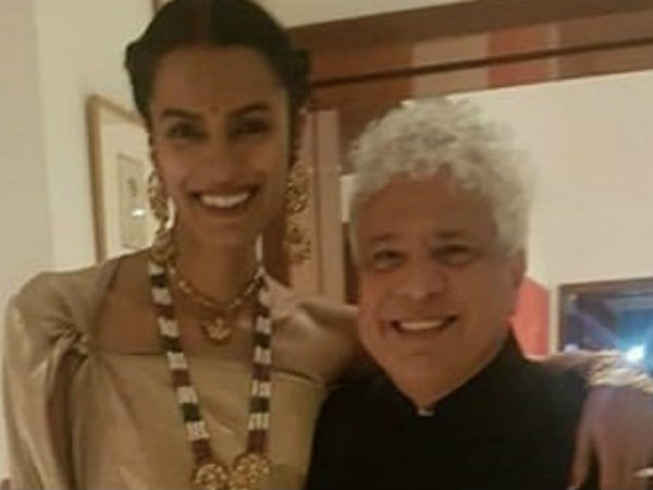 Me Too Suhel Seth Girlfriend Laxmi Menon Tie The Knot Private Ceremony On Christmas