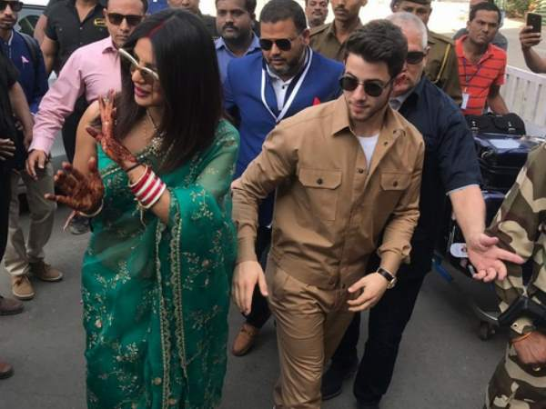 Rajasthan Priyanka Chopra Nick Jonas Leave From Jodhpur Couple Tied Knot At Umaid Bhawan
