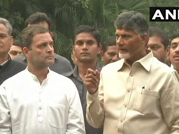 Chandrababu Naidu Planning Ditch Congress Ahead Lok Sabha Elections