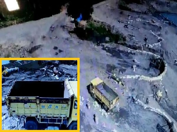 In Gujarat Drone Deployed Monitoring Sand Mining Mafia At Tapti River Basin