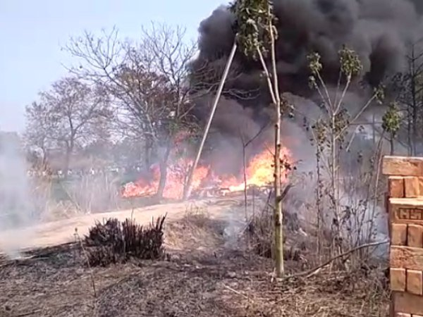Indian Air Force Jaguar Fighter Plane Crashes Kushinagar Uttar Pradesh