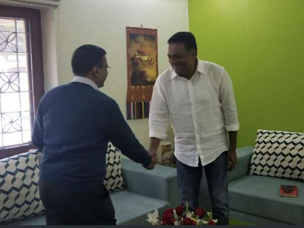 Prakash Raj Meeting With Delhi Cm Arvind Kejriwal