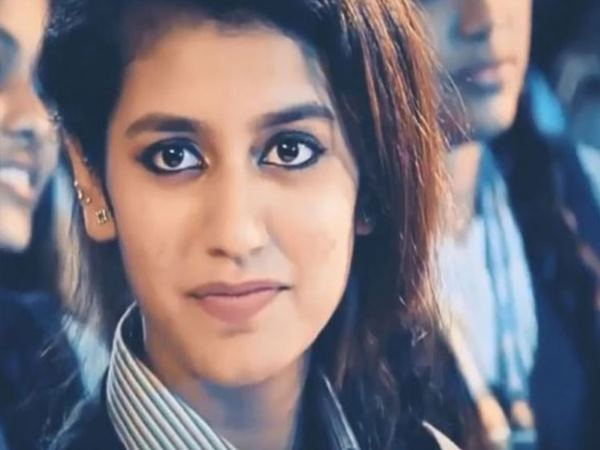 New Video Priya Prakash Varrier Is Breaking The Internet Aga