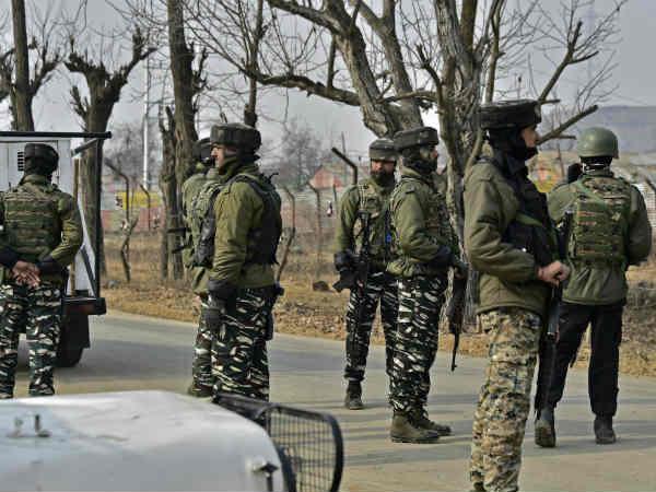 Jammu Kashmir Encounter Between Security Forces Terrorist Gulshanpora Tral Pulwama