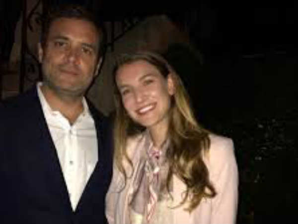 It Was Not Adult Actress With Rahul Gandhi Viral Pic Totally False