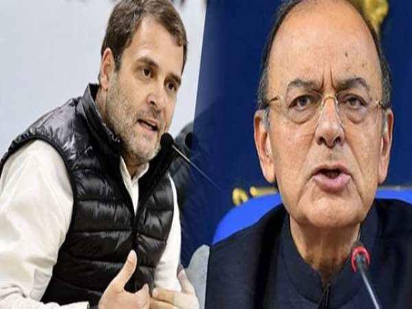 Rahul Gandhi Ailing Arun Jaitley Said We Are 100 Percent Wi