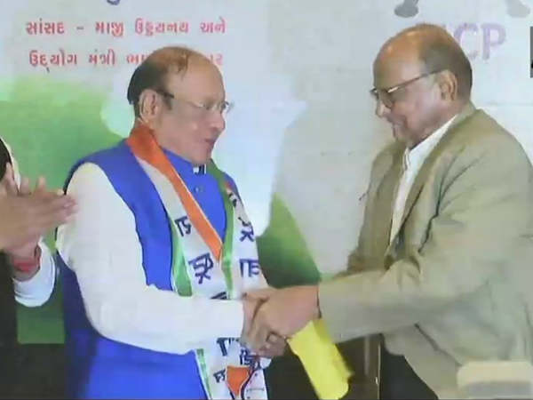 Former Chief Minister Of Gujarat Shanker Sinh Vaghela Joins Ncp