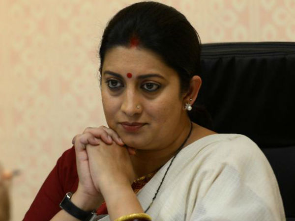 Smriti Irani Mocks Rahul Gandhi On Twitter After Takes Jibe