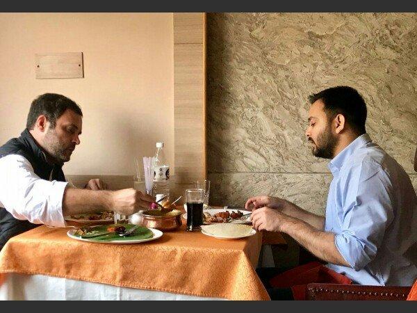Rahul Gandhi Has Qualities Make Good Pm Tejashwi Yadav