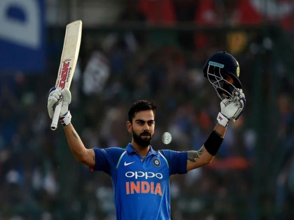 Kohli Scored Century Adilade Odi Series Against Australia