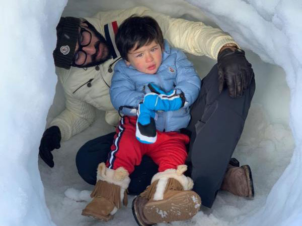 Taimur Ali Khan New Year Vacation With Saif Ali Khan Kareena Kapoor See Pics