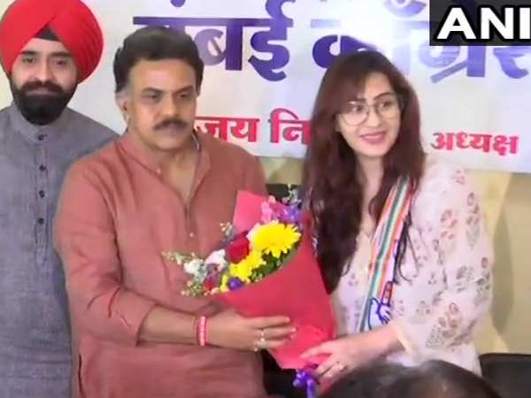 Actress Actress Shilpa Shinde Enters Politics Join Congress