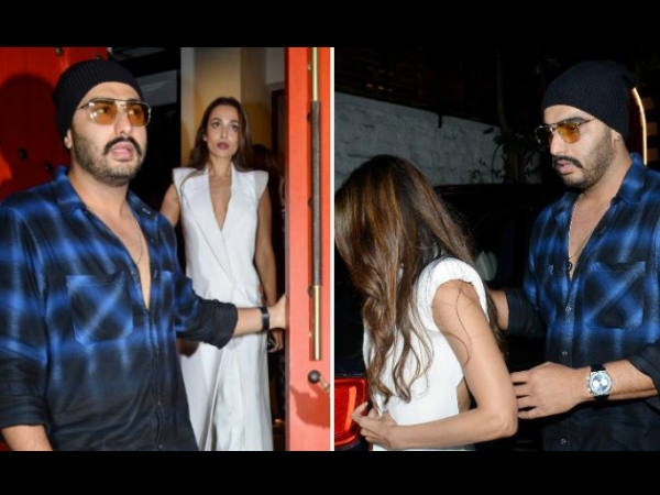 Arjun Kapoor Shouting On Photographer Who Block Malaika Arora Path Watch Video