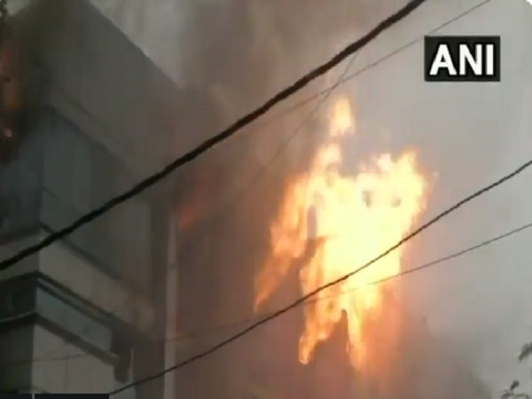 Delhi Fire Broke At Paper Card Factory Naraina Industrial Area