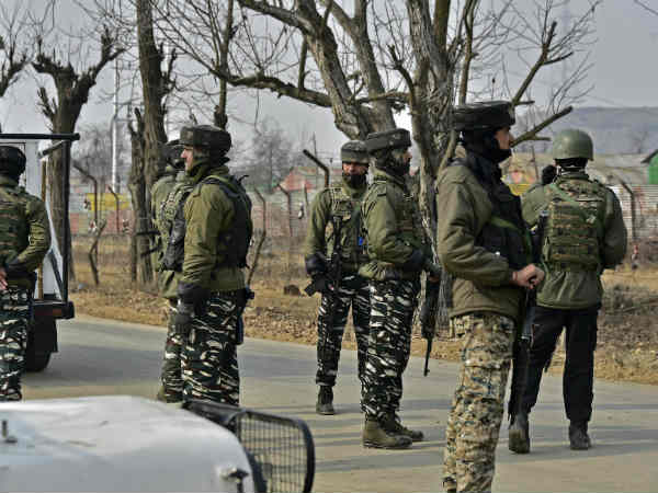 Encounter Between Security Forces Militants In Kulgam
