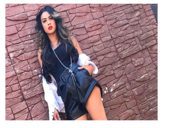 Nia Sharma Hot Black Look Viral On Social Media